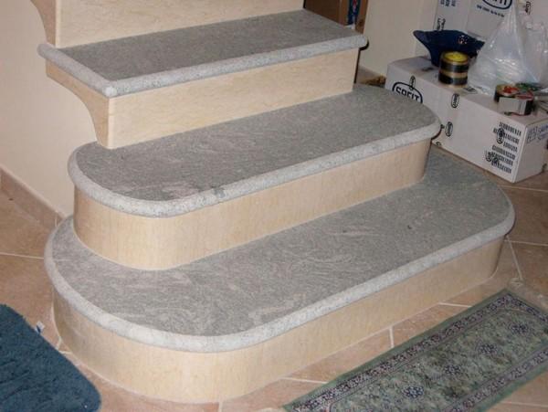 zaokrąglone schody